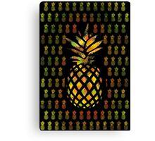 Pineapple mania Canvas Print