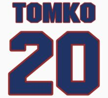 National baseball player Brett Tomko jersey 20 by imsport