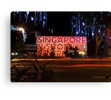 Singapore Visitors Centre Canvas Print