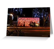 Singapore Visitors Centre Greeting Card