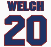 National baseball player Johnny Welch jersey 20 by imsport