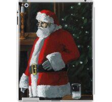 Santa Night - Xmas figurative oil painting iPad Case/Skin