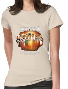 Doctor Who 50th Anniversary Womens Fitted T-Shirt