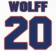 National baseball player Roger Wolff jersey 20 by imsport