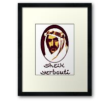 Sheik Yerbouti Framed Print