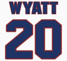 National baseball player Whit Wyatt jersey 20 by imsport