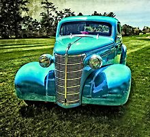 Old 1938 Chevy Coupe by Thom Zehrfeld