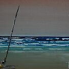 LONELY FISHERMAN by christiaan-art venter