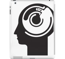 crazy idea revolving in a head iPad Case/Skin