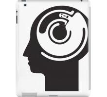 crazy idea revolving in a head iPad Case/Skin