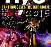 New Years Eve 2015 @ The Penthouse - Boston by BritishYank