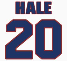 National baseball player Bob Hale jersey 20 by imsport