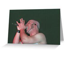 Chris Daughtry Greeting Card