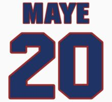 National baseball player Lee Maye jersey 20 by imsport