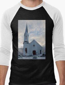 Newfields Community Church 02 Men's Baseball ¾ T-Shirt