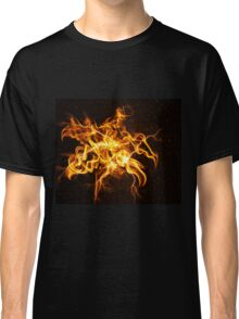 Flame flower Classic T-Shirt