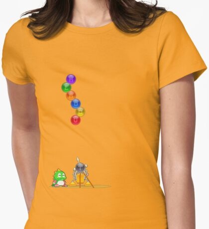 Bubbles HeadOut Womens Fitted T-Shirt