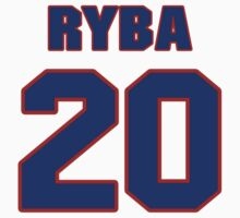 National baseball player Mike Ryba jersey 20 by imsport