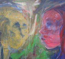 Abstract Faces by brennanartist