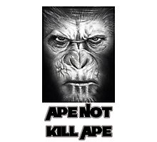 Caesar | Ape Not Kill Ape | Dawn of the Planet of the Apes Photographic Print