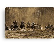 The Fog Of War Canvas Print