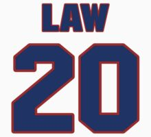 National baseball player Vern Law jersey 20 by imsport