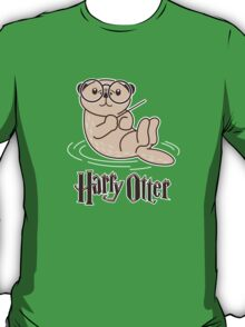 Harry Otter Wizard  T-Shirt