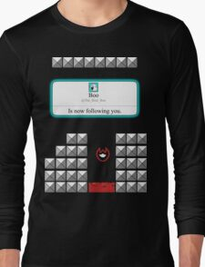 Boo is now following you! Long Sleeve T-Shirt