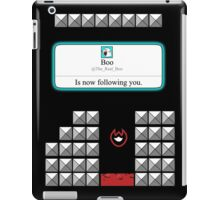 Boo is now following you! iPad Case/Skin