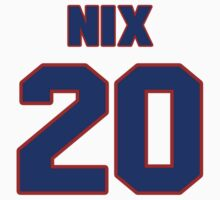 National baseball player Laynce Nix jersey 20 by imsport