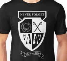 Support Your Local Library Coat of Arms Dark Unisex T-Shirt