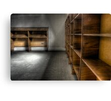 Records Office Canvas Print