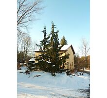 I'll be Home for Christmas Photographic Print