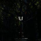 lamp in the morning light - faro en la luz de la mañana by Bernhard Matejka