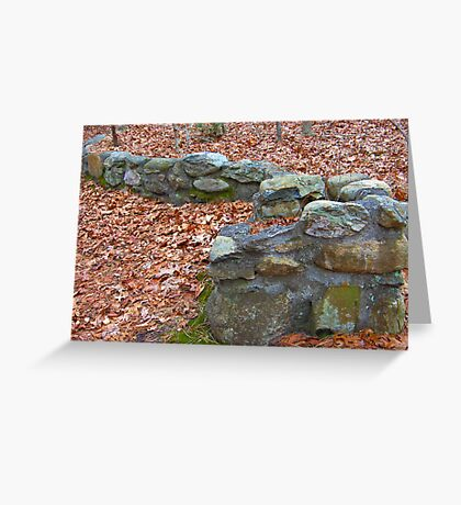 Stoned Greeting Card
