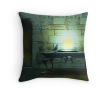 The Casting Chamber Throw Pillow