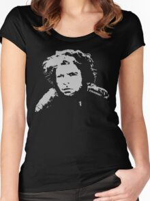 Mad Max inspired Toecutter look a like Shirt   Grey Women's Fitted Scoop T-Shirt