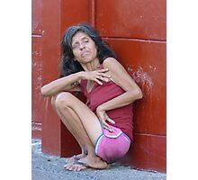sickness of soul - enfermedad de la alma Photographic Print