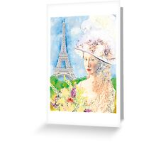BELLE PARISIENNE Greeting Card