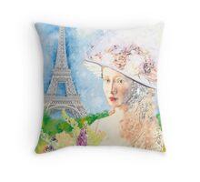 BELLE PARISIENNE Throw Pillow