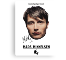 Mads Mikkelsen Canvas Print