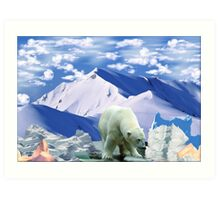 799-The Art of Ice Sniffing Art Print