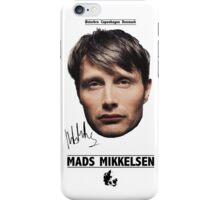 Mads Mikkelsen iPhone Case/Skin