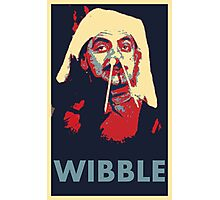 Wibble Photographic Print
