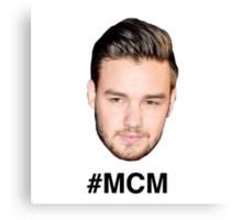 ONE DIRECTION #MCM Liam Payne Canvas Print