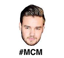 ONE DIRECTION #MCM Liam Payne Photographic Print