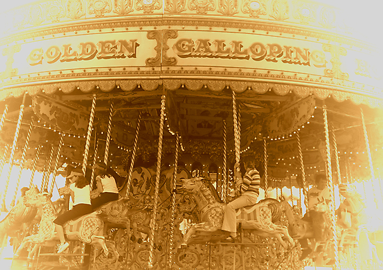THE MERRY-GO-ROUND by Angela Harburn