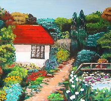 Summer Garden by Louise Henning
