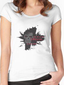 Darkside Cookies Women's Fitted Scoop T-Shirt