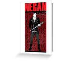 The Walking Dead - Negan & Lucille 5 Greeting Card
